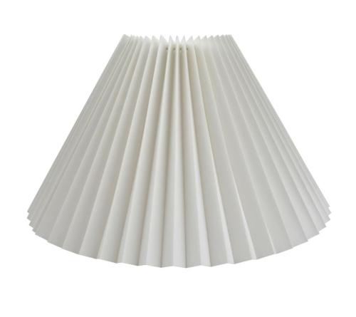ea61d831 abażur stożkowy biały harmonijka 16/47/30
